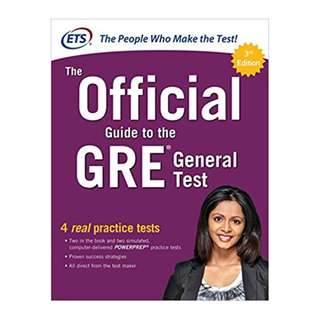 The Official Guide to the GRE General Test, Third 3rd Edition BY  Educational Testing Service