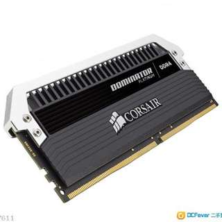Corsair DDR4 8gb ram 3200mhz 記憶體 一條
