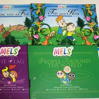 Mels Phonic books 6本