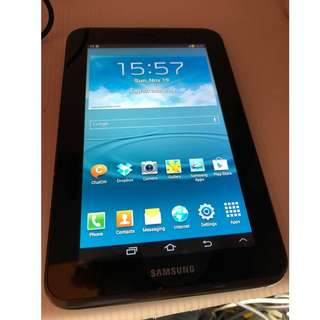 SAMSUNG TABLET 2 WİTH SİM & MEMORY SLOT OPEN LİNE