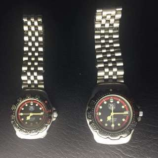 Tag Heuer Authentic Formula 1 F1 His and Her Set Watch