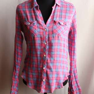 Abercrombie & Fitch Plaid ButtonUp Shirt