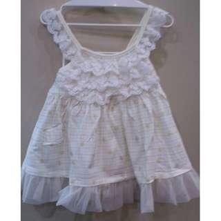 可爱蕾丝吊带裙