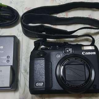 Canon Powershot G12 - LCD