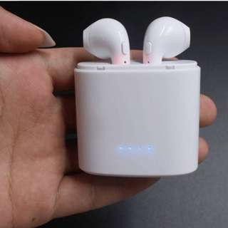 HBQ i7S TWS 雙耳真無線藍芽耳機連充電盒 Wireless Bluetooth headphone V4.2 portable Mini headset with charger box