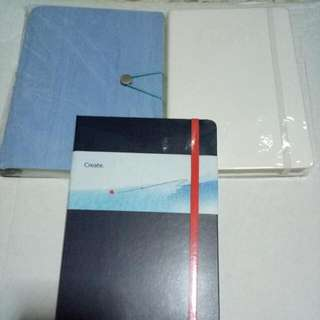 BN Notebook With Strap (all With Plastic Intact)