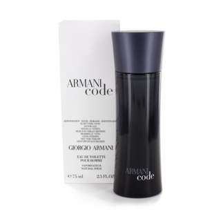 Parfum Original Giorgio Armani Code Tester