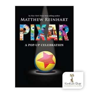 Disney *Pixar pop up book: A Pop-Up Celebration
