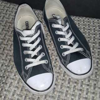 Original Black Converse low rise