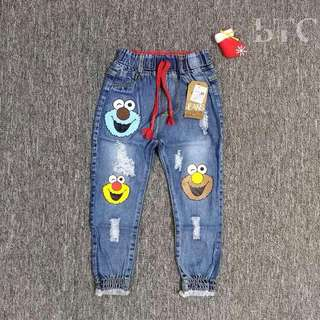 [READY STOCK] Cartoon Denim Jeans