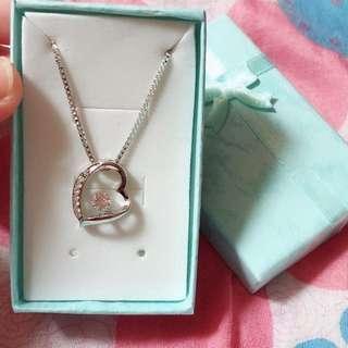Swarovski elements true love necklace
