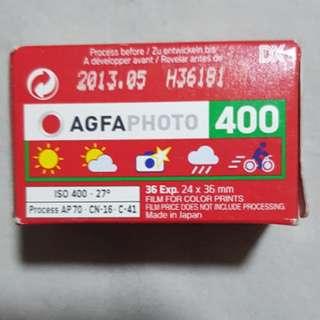 Agfa Vista plus 400 36 Expired 05/2013