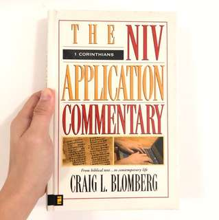 The NIV application commentary - 1 Corinthians