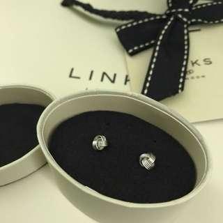 Links earrings Pure Silver 純銀 情人節禮物