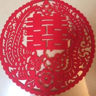 囍/對聯/中式結婚