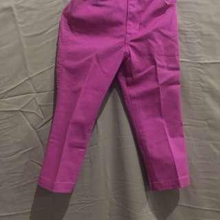 Celana gap pink 3thn