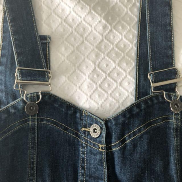$30 Denim overalls