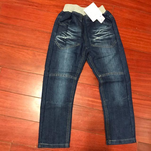 全新牛仔長褲