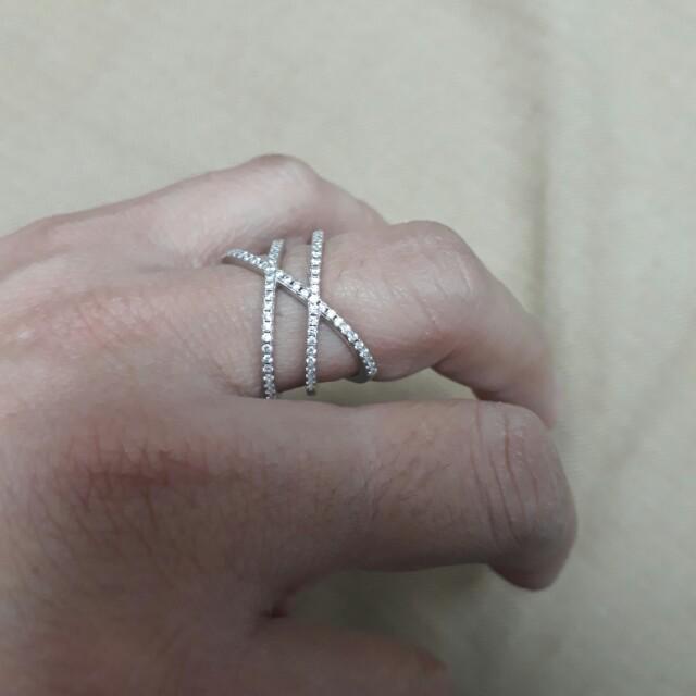 純銀戒指 狀況非常新