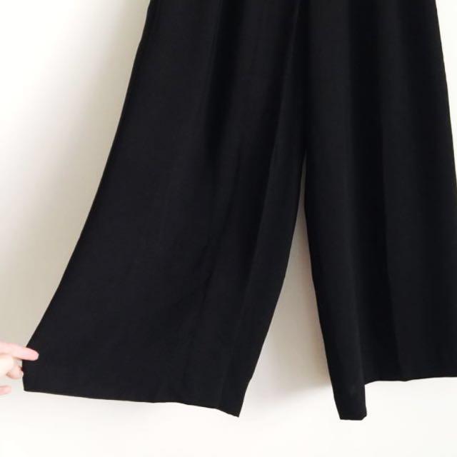 ,,超美高腰寬褲 褲裙,,