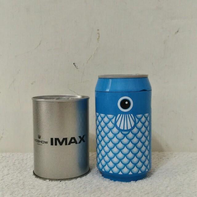 買 CAN Republic肯環保可樂罐隨行杯 (已絕版囉) 送 VIESHOW IMAX 存錢筒