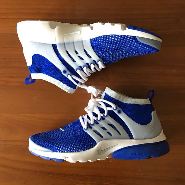 全新公司貨 Nike Air Presto 藍襪套 高筒 US9 Eugene Tong