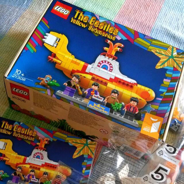 🃏 Original The Beatles Yellow Submarine Lego 🃏