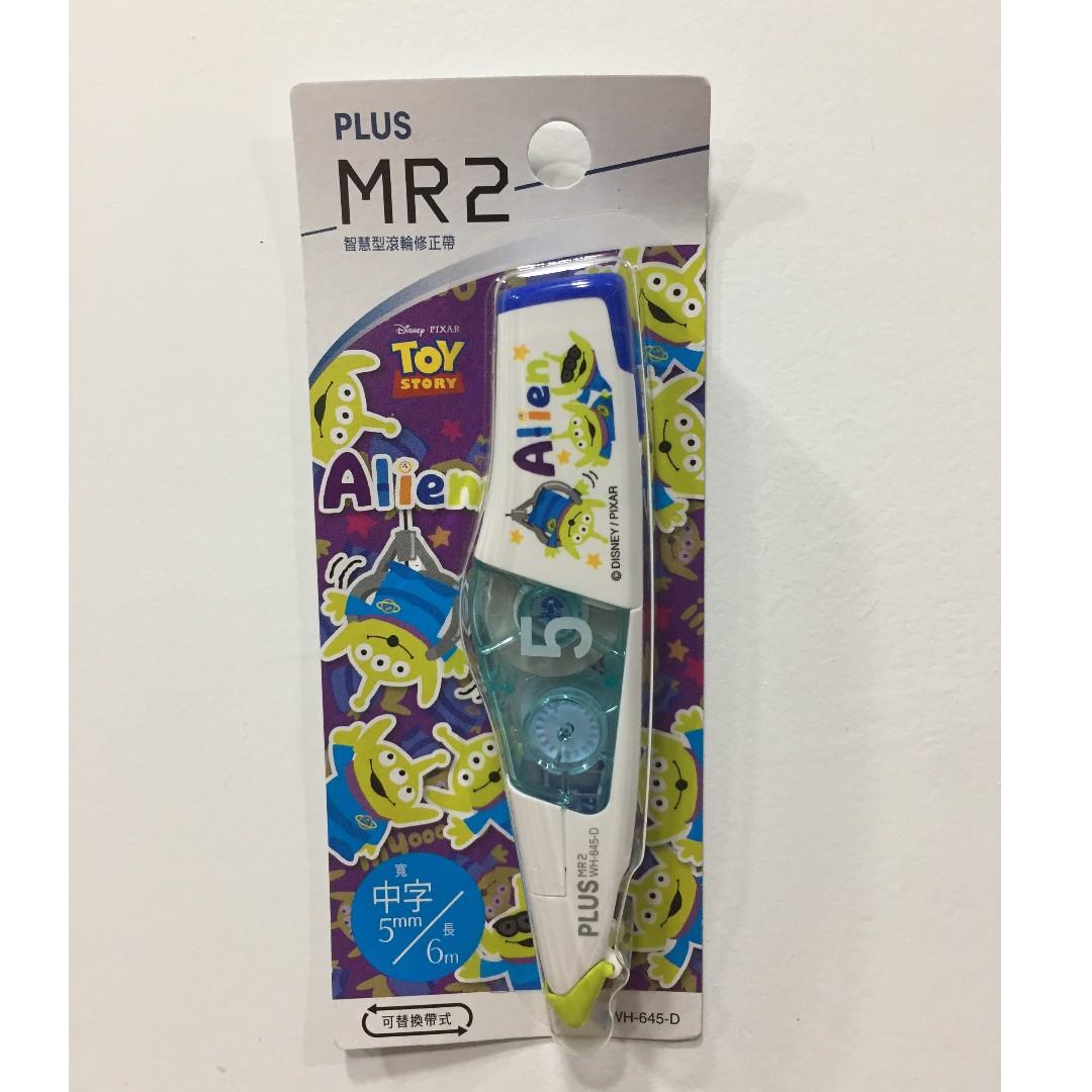 三眼怪 PLUS普樂士MR2 智慧型滾輪修正帶限定版立可帶 DISNEY 迪士尼 Toy Story 玩具總動員
