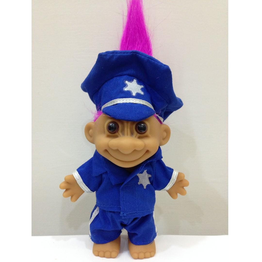 幸運小子 (阿SIR)醜娃、巨魔娃娃、醜妞、Troll Doll、魔髮精靈