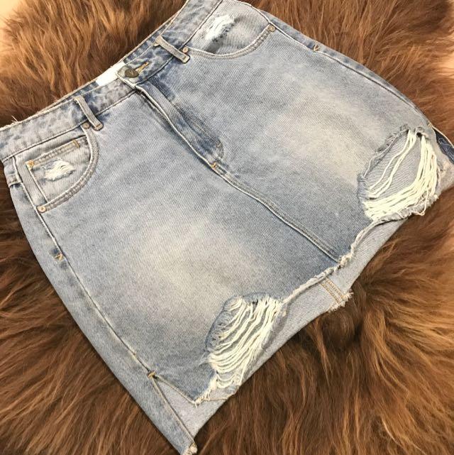 A brand Jeans Denim Skirt Size 10/28