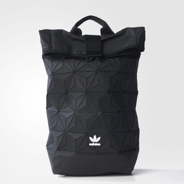 6c98ff708ca5 Adidas 3D Urban Mesh Roll Backpack bag Black  FreePostage Issey ...