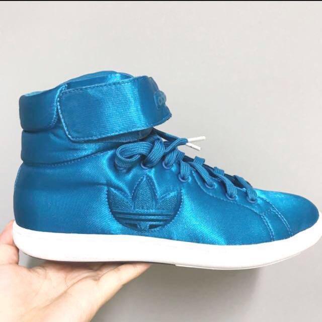 Adidas originals STAN SMITH TREFOIL MID W  愛迪達 高筒跳舞鞋 美國帶回限量款 已絕版