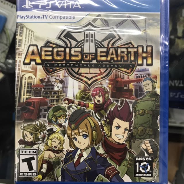 Aegis Of Earth(Eng.Ver)