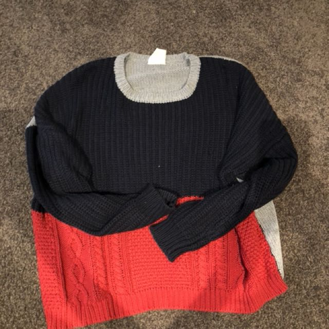 All about Eve oversized knit