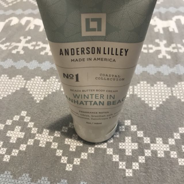 Anderson Lilley Winter In Manhattan Lotion