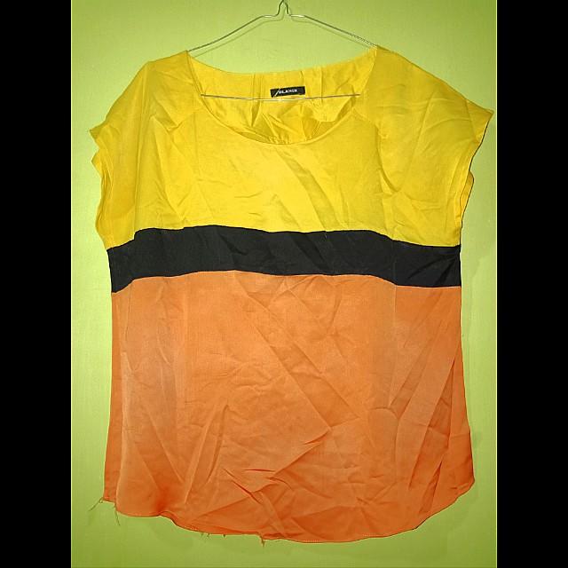 Atasan yellow
