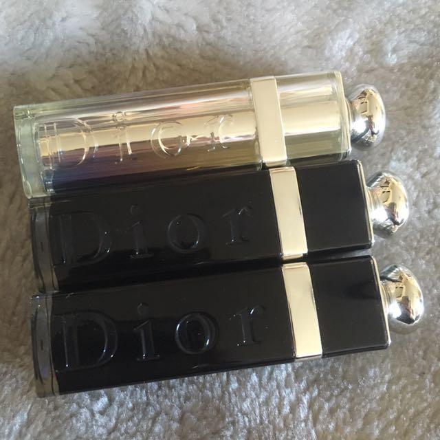 Authentic Dior Lipsticks