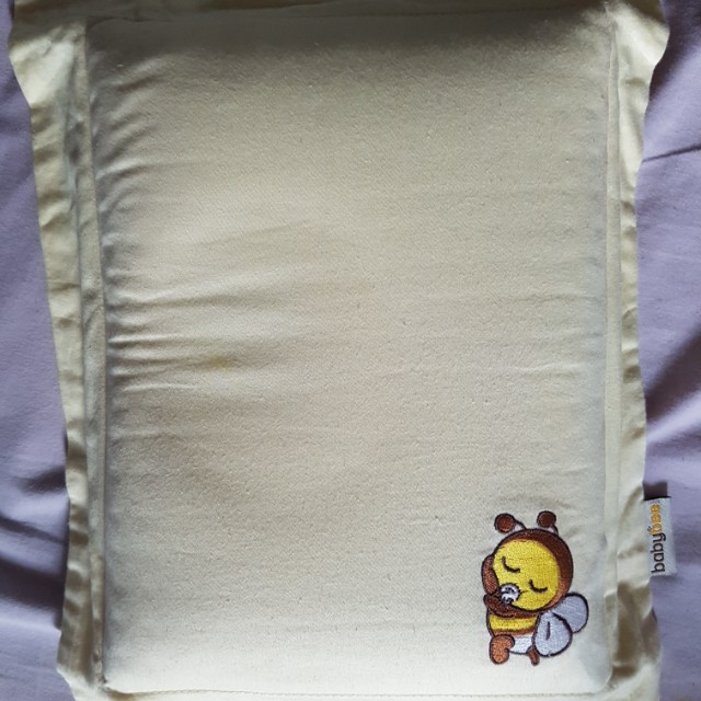 Baby bee pillow