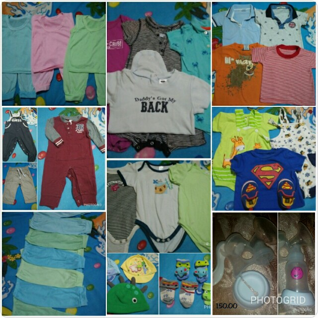 Baby boy OOTD - peices indicated on the photos
