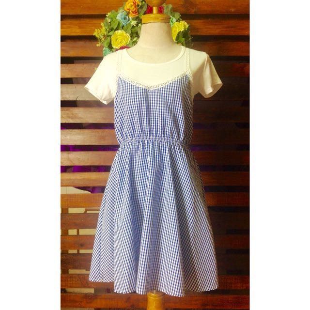 Babydoll Dress (white shirt included)