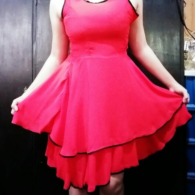 Bella Red Dress