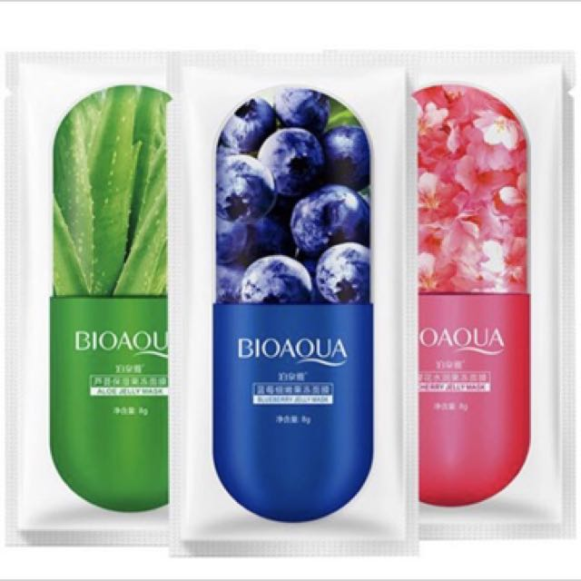 BIOAQUA Jelly Face Mask (3 Flavours Available)