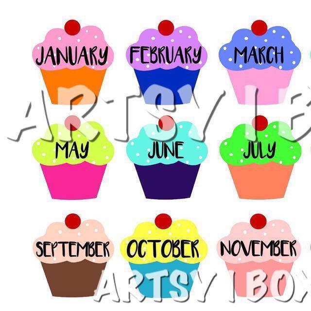 Classroom Decoration Birthday Chart ~ Birthday chart classroom decoration on carousell