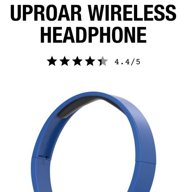 Blue Skull candy uproar Bluetooth headphones