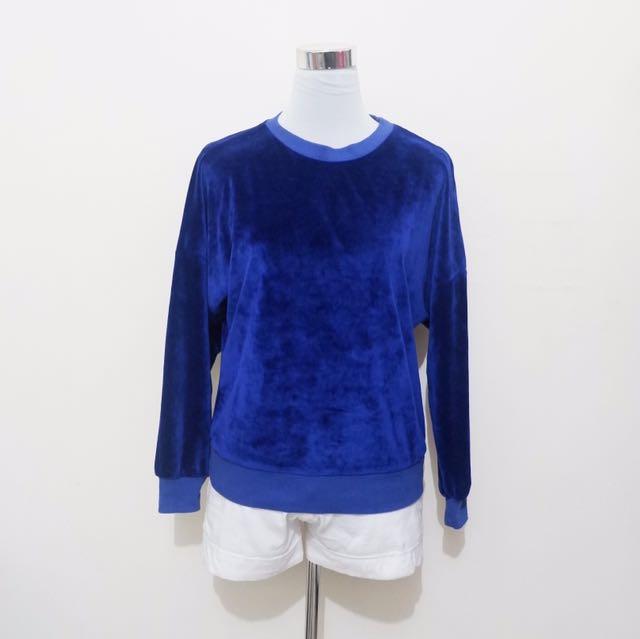 Blue velvet LS