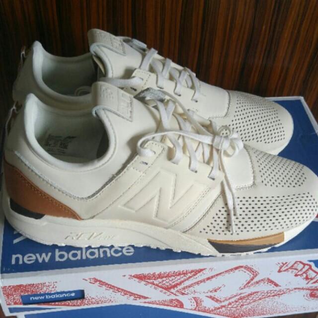 BNIB New Balance 247 White Luxe