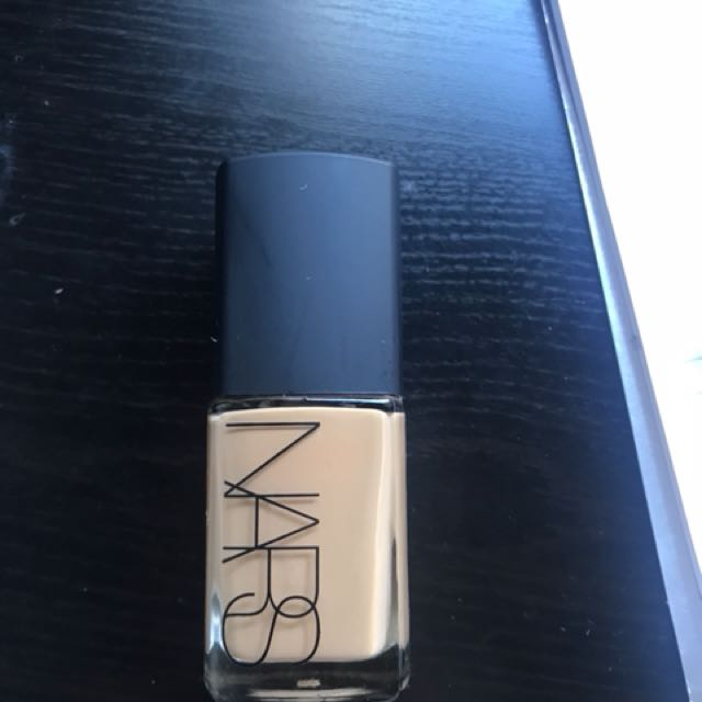 Brand new Nars sheer glow foundation
