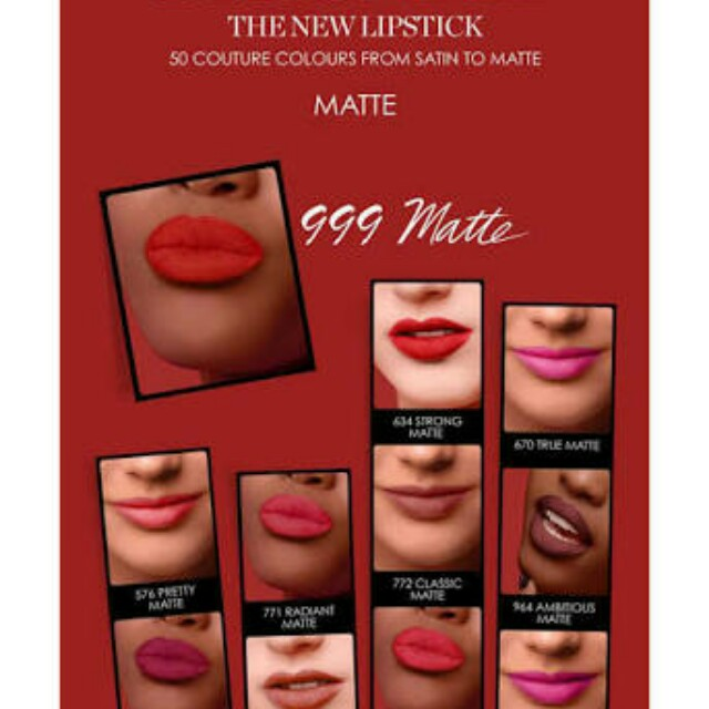 Brand new rouge Dior 999 MATTE