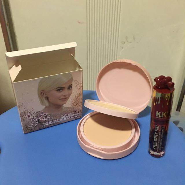 Bundle !!! Kylie 2-1 Face Powder and Lip & Cheek Tint