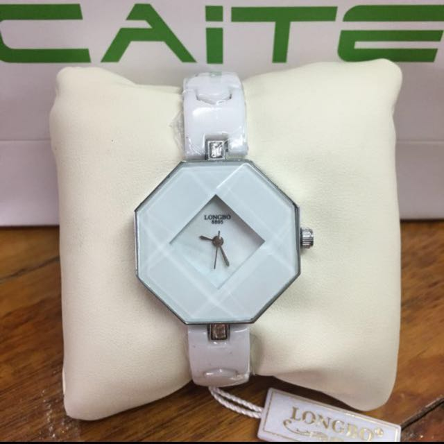 "Caite "" Longbo "" Series Ceramic Watch"